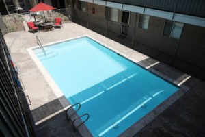 Cool pool! - Centralized mail boxes - Kendall Brook Apartments, San Bernardino, CA