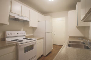 Floor Plan D - Kitchen - Kendall Brook Apartments, San Bernardino, CA