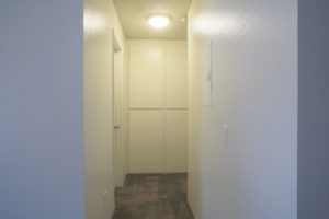 Floor Plan D - Hallway - Kendall Brook Apartments, San Bernardino, CA