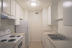 Floor Plan C - Kitchen - Kendall Brook Apartments, San Bernardino, CA
